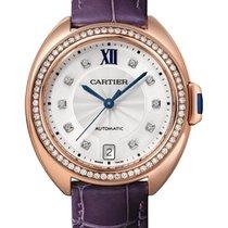 卡地亚 Clé de Cartier WJCL0039 全新 玫瑰金 35mm 自动上弦