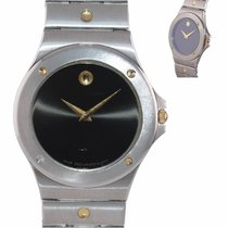 Movado Gold/Steel 34mm Quartz Museum pre-owned United States of America, New York, Huntington