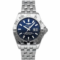 Breitling Galactic 41 Steel 41mm Blue