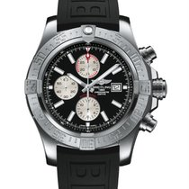 Breitling Super Avenger II Steel 48mm Black United States of America, New York, NY