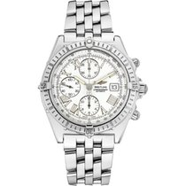 Breitling Crosswind Racing Steel 40mm White