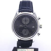 IWC Portugieser Chronograph Stahl
