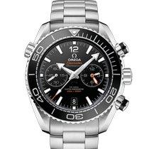 Omega Seamaster Planet Ocean Chronograph Acier 45.5mm Noir Sans chiffres France, LIMOGES