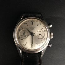 Heuer Steel 34mm Manual winding 3647S pre-owned United States of America, Vermont, MANCHESTER