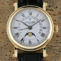 Patek Philippe Perpetual Calendar Yellow gold 36mm White Roman numerals