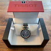 Tissot PRS 516 Zeljezo 42mm Plav-modar Bez brojeva