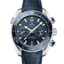 Omega Seamaster Planet Ocean Chronograph Acier 45.5mm Bleu France, LIMOGES