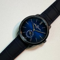 Girard Perregaux 1966 Steel 40mm Blue No numerals United States of America, New Jersey, Princeton