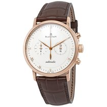 Blancpain Villeret Rose gold 40mm Silver Roman numerals United States of America, New York, New York