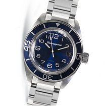 Vostok new Automatic Screw-Down Crown 42mm Steel Mineral Glass