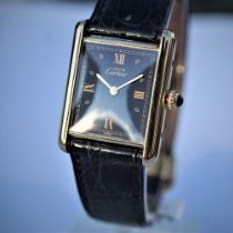 Cartier Tank (submodel) W1001254 God Sølv 24mm Kvarts