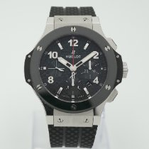 Hublot Big Bang 44 mm pre-owned 44mm Black Chronograph Date Rubber