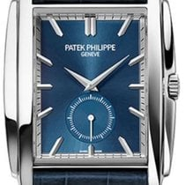Patek Philippe Gondolo White gold 33.4mm Blue No numerals