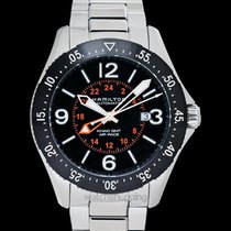 Hamilton Khaki Pilot Steel 44mm Black United States of America, California, Burlingame