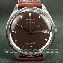 Longines Equestrian pre-owned 37mm Brown Date Leather