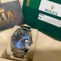 Rolex Datejust Stal 36mm Niebieski