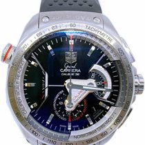 TAG Heuer Grand Carrera Steel 43mm Black No numerals United States of America, Florida, Naples