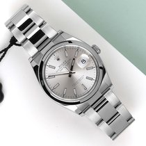 Rolex Staal Automatisch Zilver 36mm tweedehands Datejust