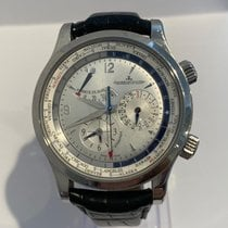 Jaeger-LeCoultre Master World Geographic Steel Silver United States of America, Florida, Miami beach