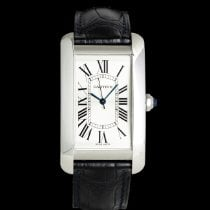 Cartier Tank Américaine Steel 45mm Silver