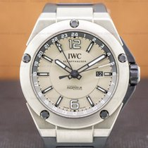IWC Ingenieur Dual Time pre-owned 45mm Date GMT Rubber