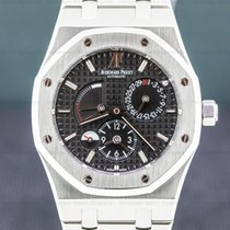Audemars Piguet Royal Oak Dual Time Steel 39mm Black Arabic numerals United States of America, Massachusetts, Boston