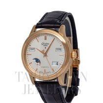 Glashütte Original Senator Perpetual Calendar Rose gold 38mm Silver United States of America, New York, Hartsdale