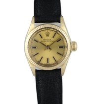 Rolex Oyster Perpetual 26 Yellow gold 24mm Champagne United States of America, New York, New York