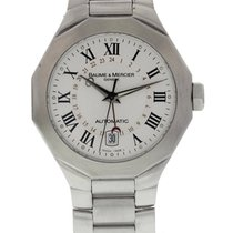 Baume & Mercier Riviera Steel 40mm Silver United States of America, New York, New York