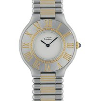 Cartier 21 Must de Cartier Steel 31mm White United States of America, New York, New York