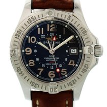 Breitling Colt GMT Steel 40mm Blue United States of America, New York, New York