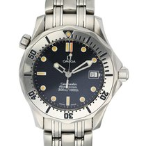 Omega Seamaster Diver 300 M Steel 38mm Blue United States of America, New York, New York