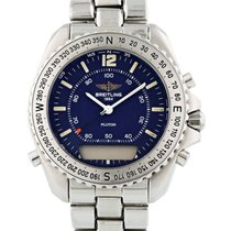 Breitling Pluton Steel 41mm Blue United States of America, New York, New York
