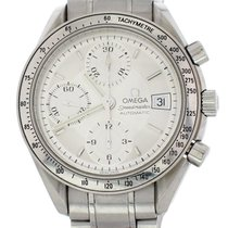 Omega Speedmaster Date Steel 39mm Silver United States of America, New York, New York