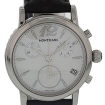 Montblanc Silver Quartz Mother of pearl 36mm pre-owned Star