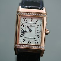 Jaeger-LeCoultre Reverso Duetto Duo Rose gold Silver