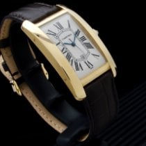 Cartier Tank Américaine 1740 Very good Yellow gold 27mm Automatic
