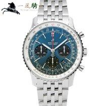 Breitling Navitimer 1 B01 Chronograph 43 occasion 43mm Bleu Acier