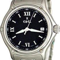 Ebel 1911 Steel 36mm Black Roman numerals United States of America, Texas, Dallas