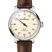 Meistersinger N° 03 AM903 New Steel 43mm Automatic
