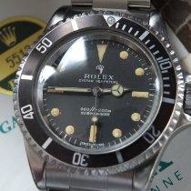 Rolex Submariner (No Date) Stahl 40mm Schwarz Keine Ziffern Deutschland, Eltville