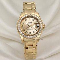Rolex Lady-Datejust Pearlmaster Oro amarillo 29mm