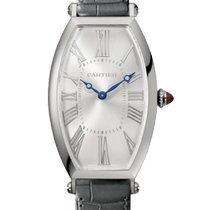 Cartier Tonneau Platin 46.3mm Silber Deutschland, Baden Baden