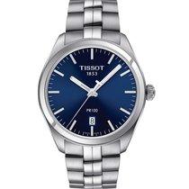 天梭 PR 100 全新 2020 石英 带有原装包装盒和原始证书的手表 T101.410.11.041.00