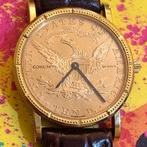 Corum Coin Watch Oro amarillo Oro