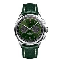 Breitling for Bentley Acero 42mm Verde Sin cifras
