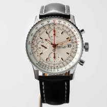 Breitling Navitimer Heritage Steel 41mm Silver No numerals United States of America, Massachusetts, Boston