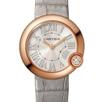 Cartier Ballon Blanc Rose gold 30mm Silver