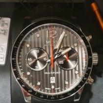 Mido Multifort Chronograph Stahl Schwarz