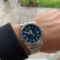 IWC Pilot's Watch Automatic 36 Stahl 36mm Blau Arabisch Deutschland, Siegen